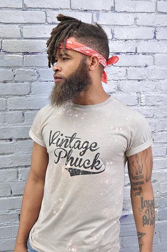 Bleach Beige Vintage Phuck T Shirt Unisex