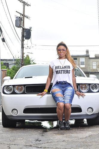 Melanin Matters T Shirt