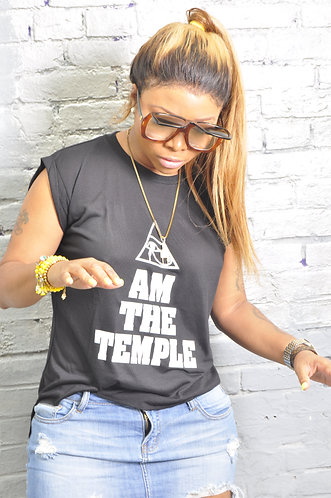 Eye Am The Temple Tee