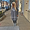 Thumbnail: Gray Vintage Phuck Bubble Dress