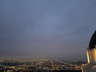 View across LA from the Griffith Observatory