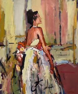 Gown, 48x40, o/c