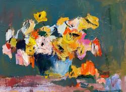 Wildflowers, 18x24, o/c