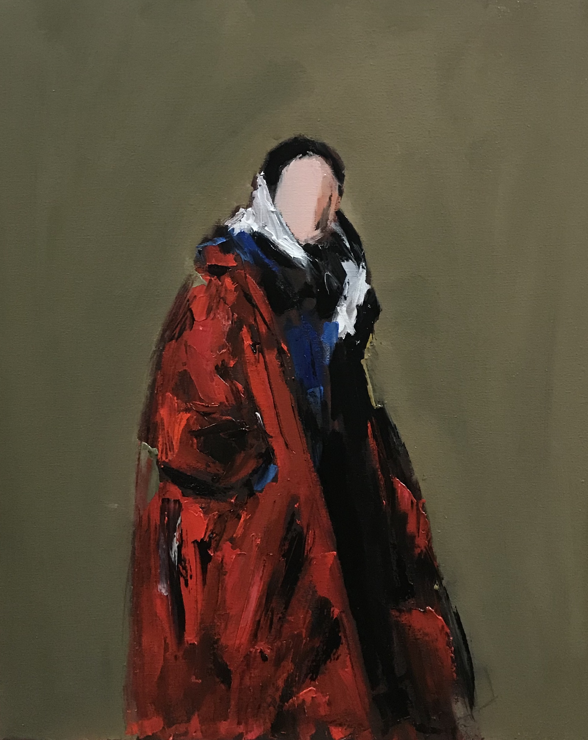 Red Robe, 20x16, o/c