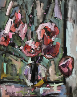Bouquet, 20x16, o/c
