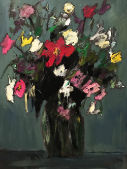 Bouquet, 40x30, o/c