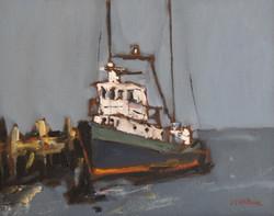 Docked II, 11x14, o/c