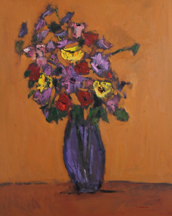 Bouquet #1, 60x48, o/c
