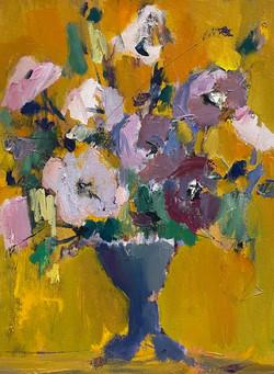 Blue Vase, 24x18, o/c