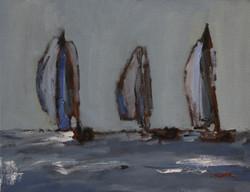 Trio, 11x14, o/c