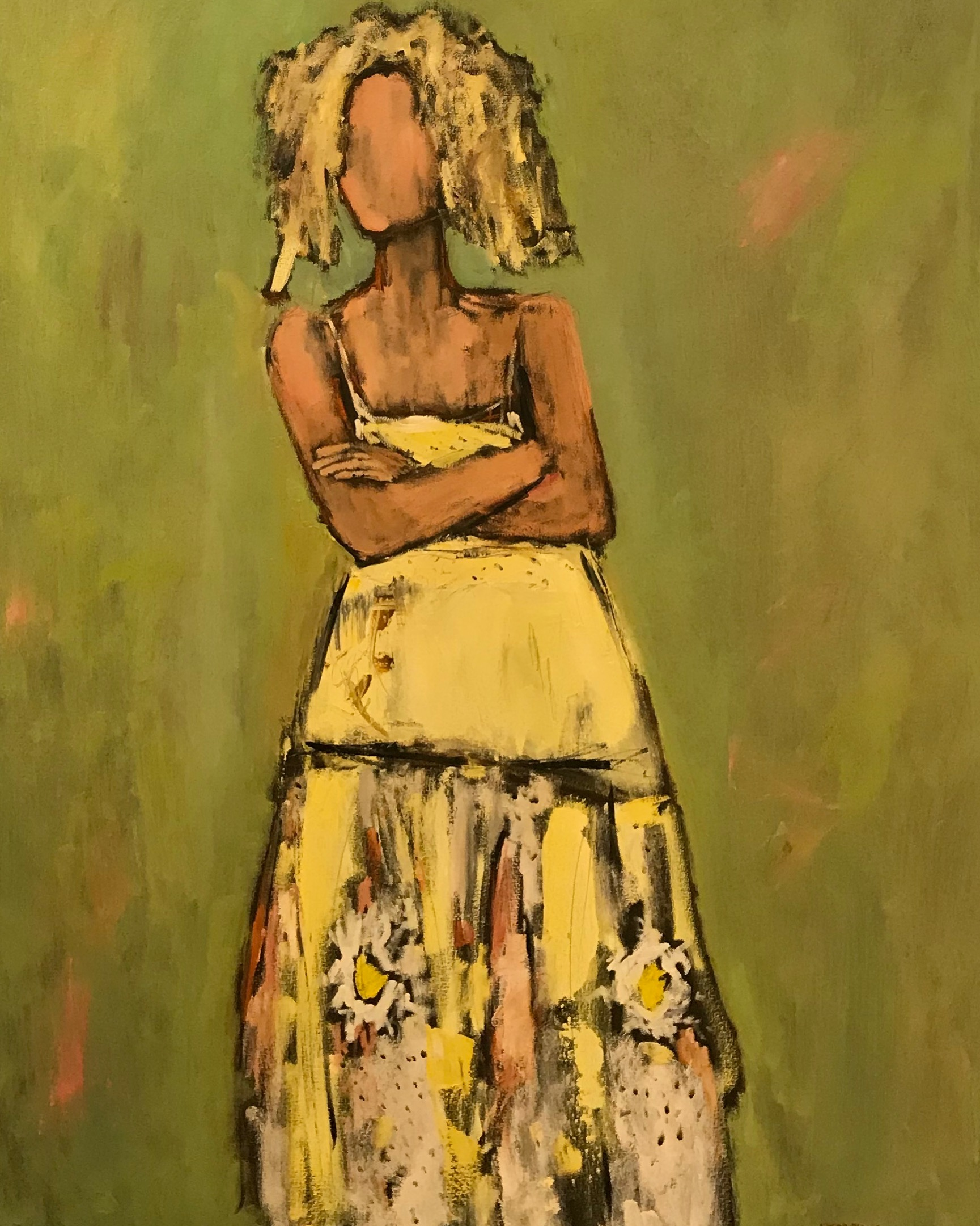 Marni, 48x36, oil on canvas