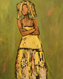 Marni, 48x36, oil on canvas