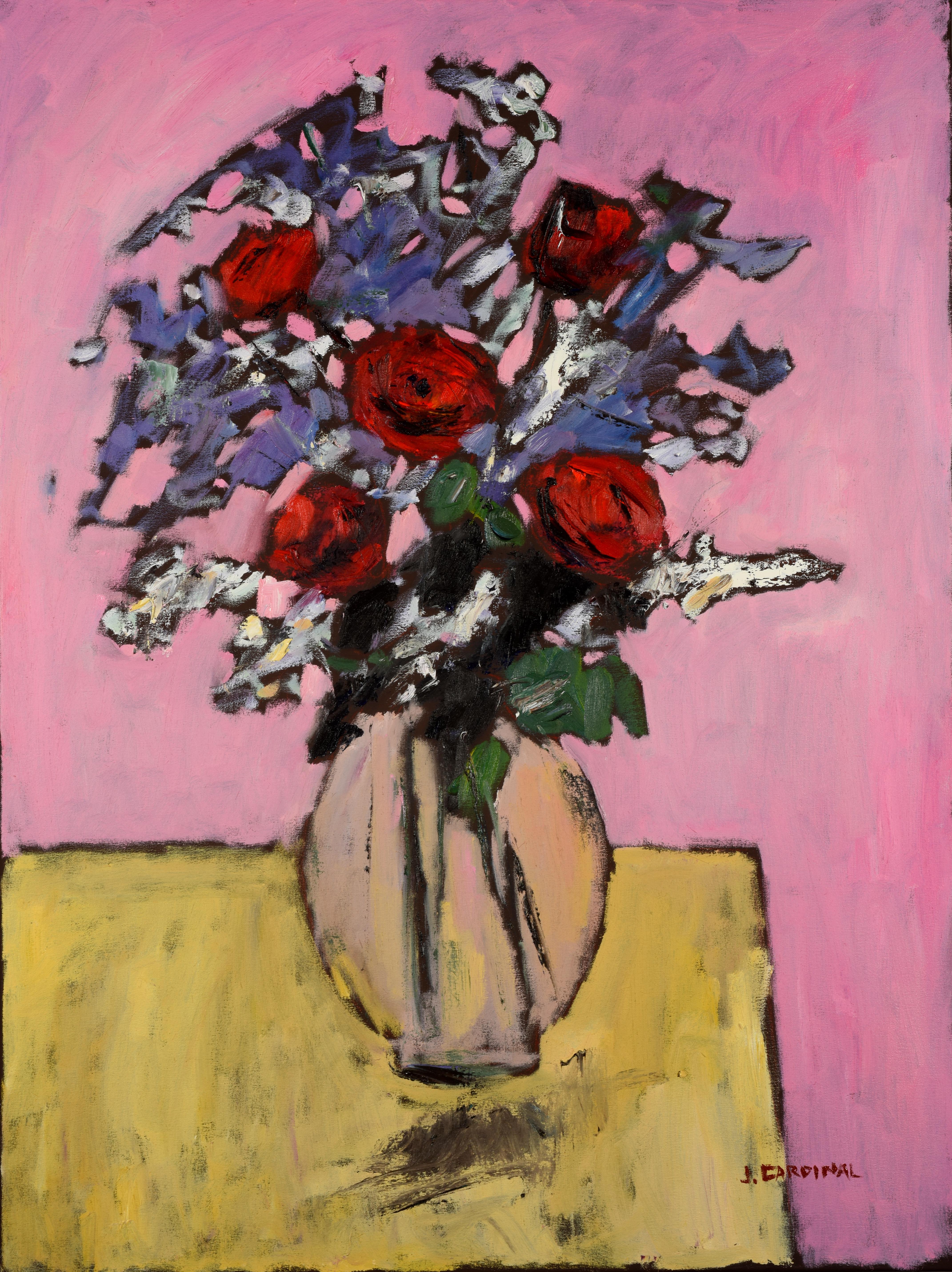Roses, 40x30, o/c