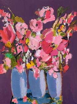 Morning Bouquet, 24x18, o/c