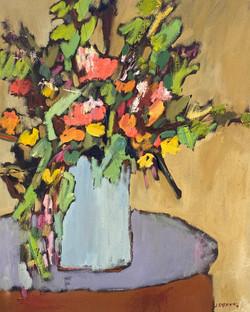 Blue Vase, 20x16, o/c