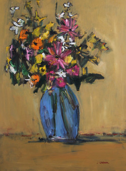 Bouquet #2, 54x40, o/c