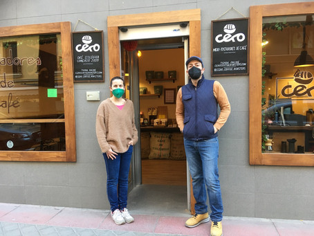 Cero Coffee Roasters - Small But Perfectly Formed !