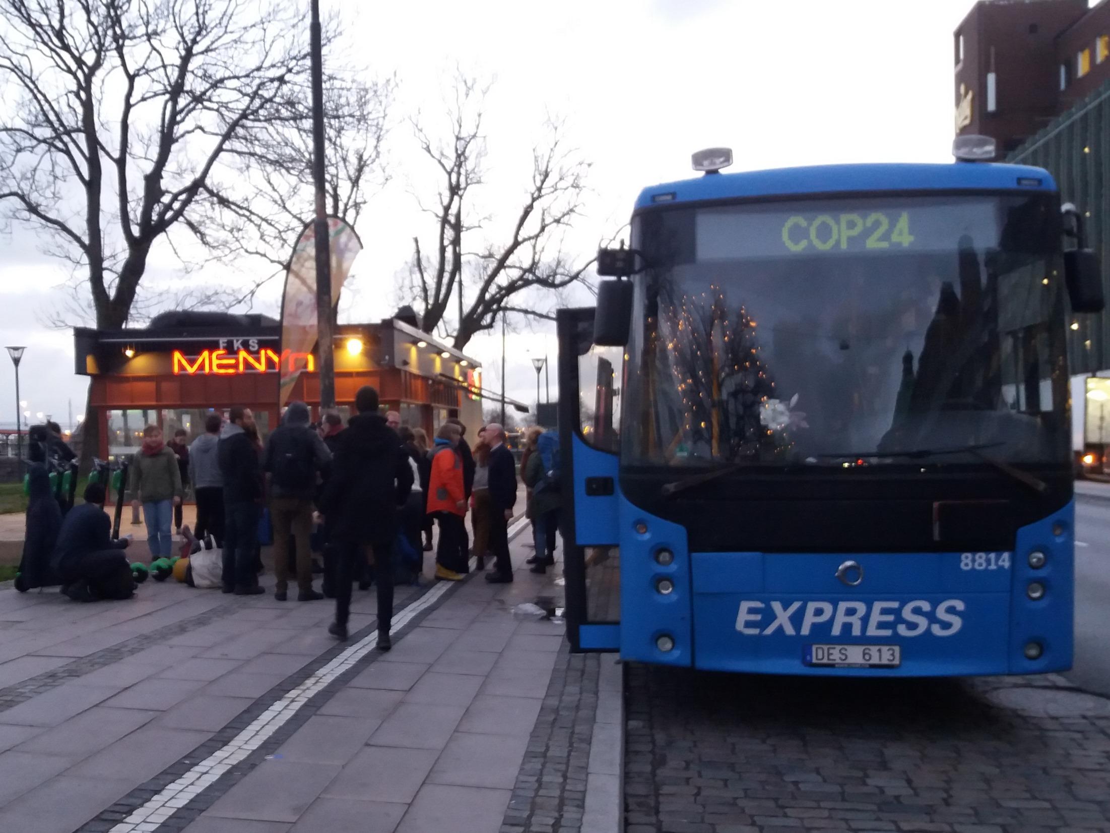 Ankomst Malmö