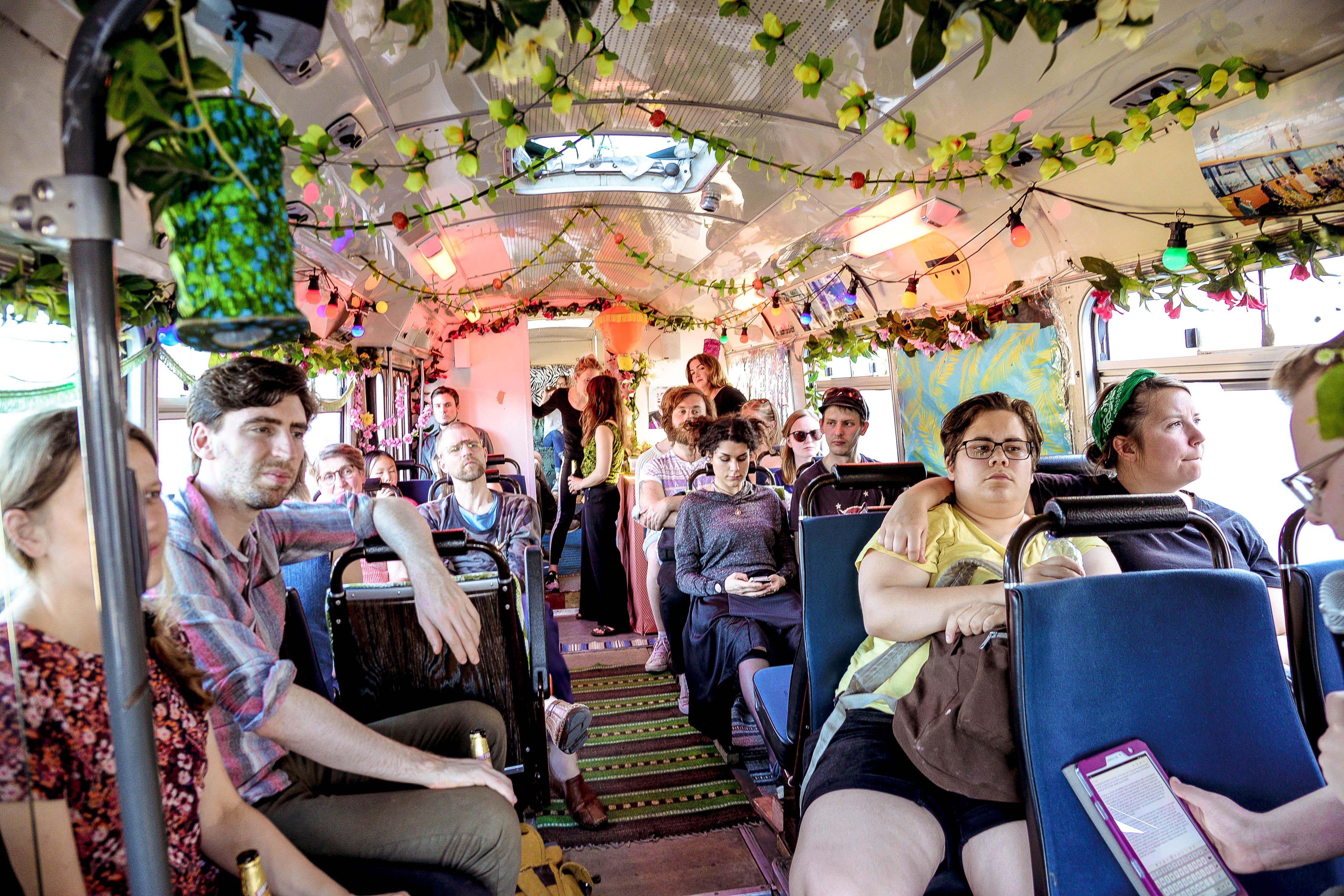 Safari med Guldbussen