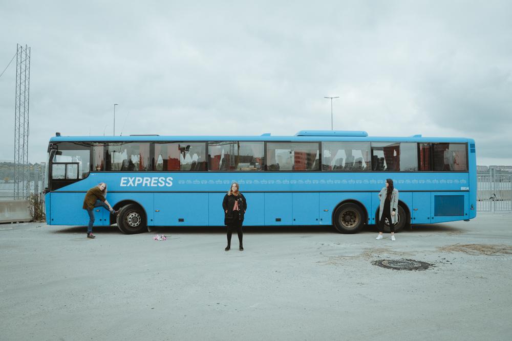Blåa Rättbussen