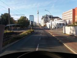 Ankomst Berlin