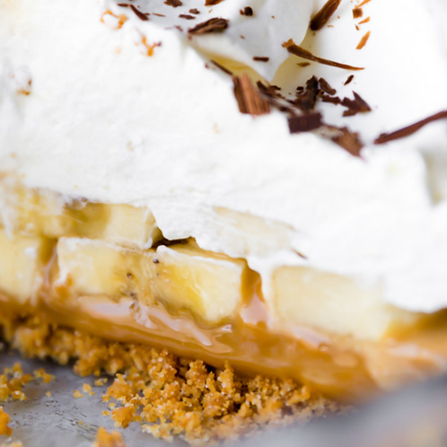 Salted Banoffee Pie