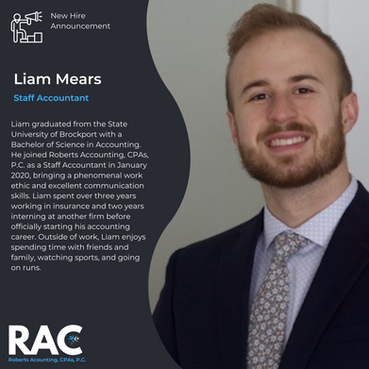 Welcome Liam!