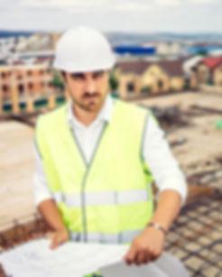 מהנדס בניין באתר בנייה