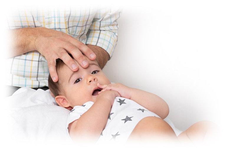 אוסטאופתיה לתינוקות, בזמן בדיקה
