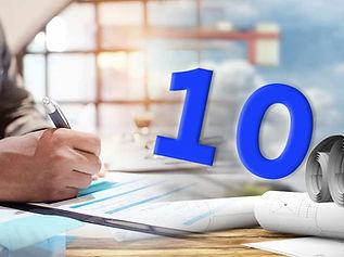 10 עקרונות חשובים