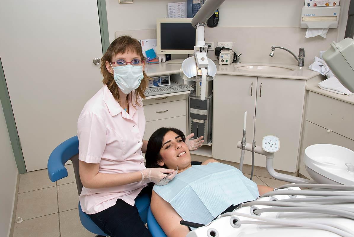 צילום תדמית במרפאת שיניים