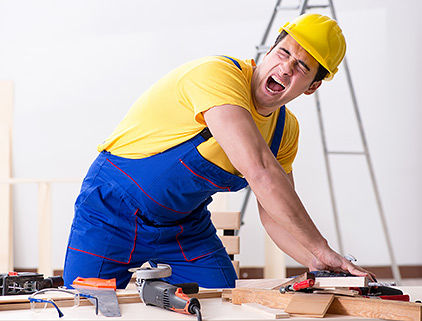 ביטוח לקבלני שיפוצים - עובד נפצע