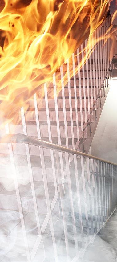 ביטוח נזקי רכוש - נזק שריפה