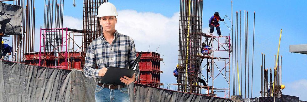 באנר בטיחות ותאונות באתרי בנייה
