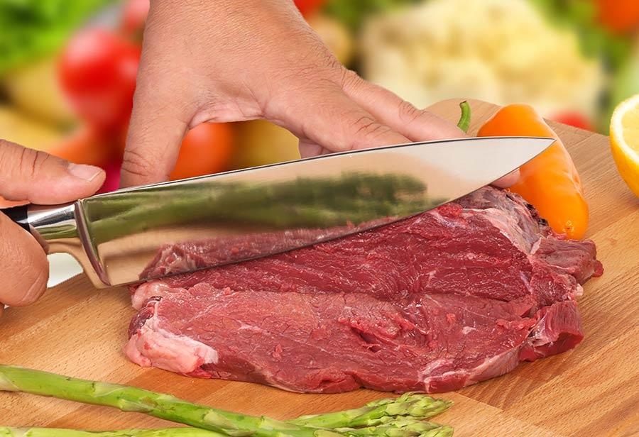 צילום מוצר לאמזון - סכין לחיתוך בשר
