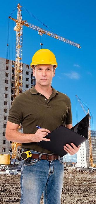 קבלן עבודה באתר בנייה