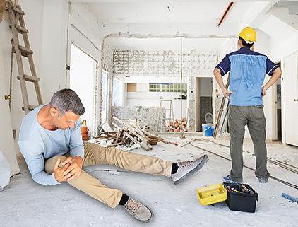 ביטוח קבלני שיפוצים - דייר נפגע בזמן שיפוץ