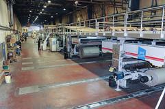 צילום תעשייתי של אולם ייצור בבסט קרטון