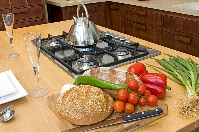 אי למטבח - צילום אווירה