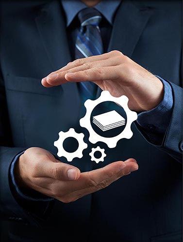 אייקון ביטוח לחבות מוצר בין שתי ידיים
