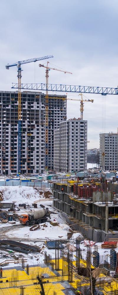 בנייה בחורף