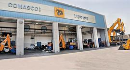 צילום תעשייתי של מוסך חברת קומסקו