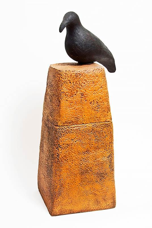 צילום פסל משולב חימר וברונזה
