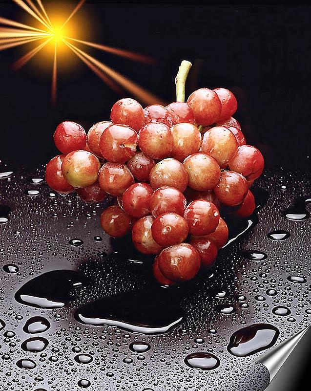 צילום ענבים בסטודיו