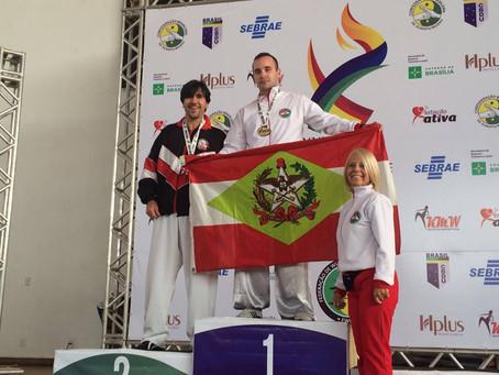 XXVII Campeonato Brasileiro de Kung Fu WuShu 2016 Brasilia.