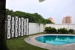 villa executive with pool
