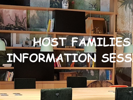 Host Family Information Session