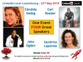 LinkedIn Local Luxembourg - 23rd of May