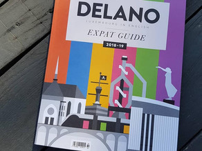 Nice to be featured in the 2018-2019 Expat Guide Luxembourg byDelano Magazine