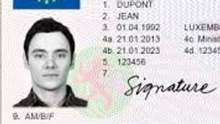 Registration of European Driving Licence
